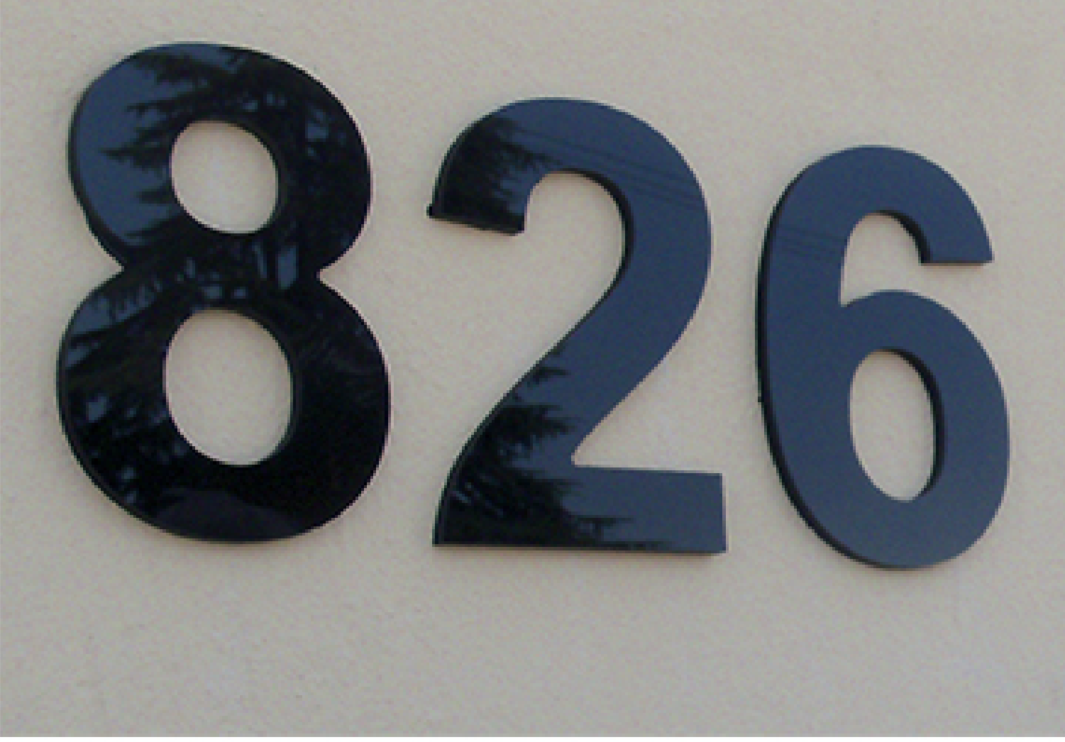 Sign Company Number Signs