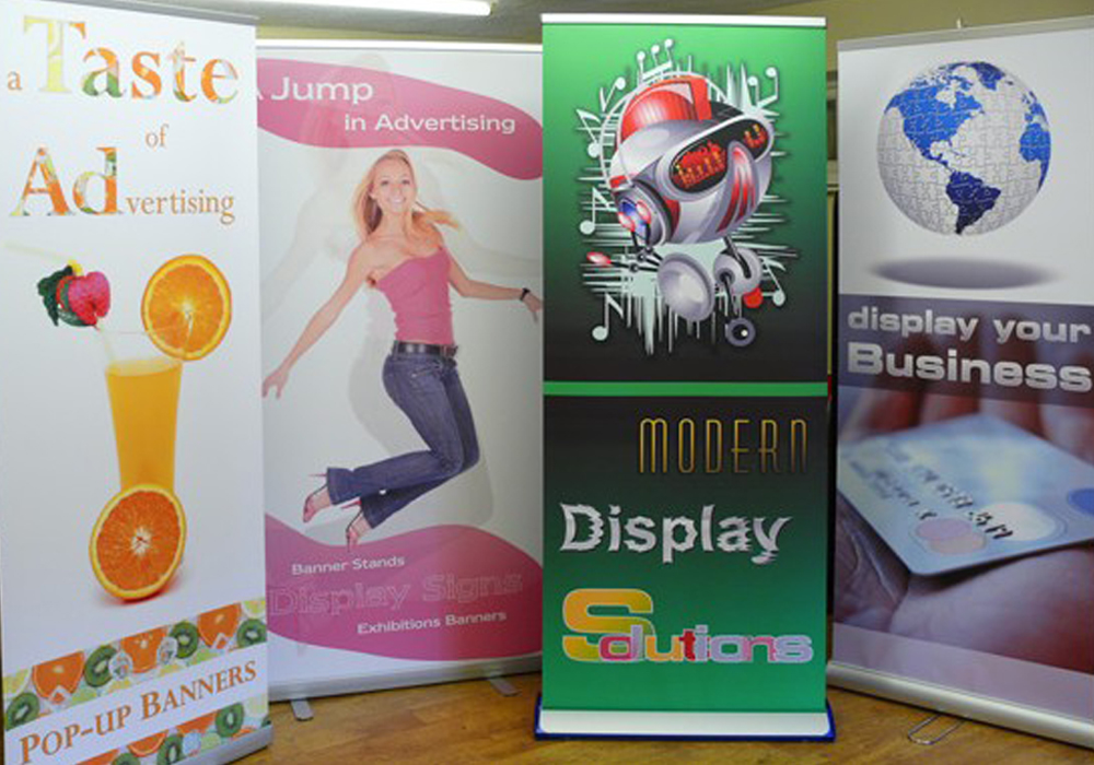 Banner Stands for Outdoor events