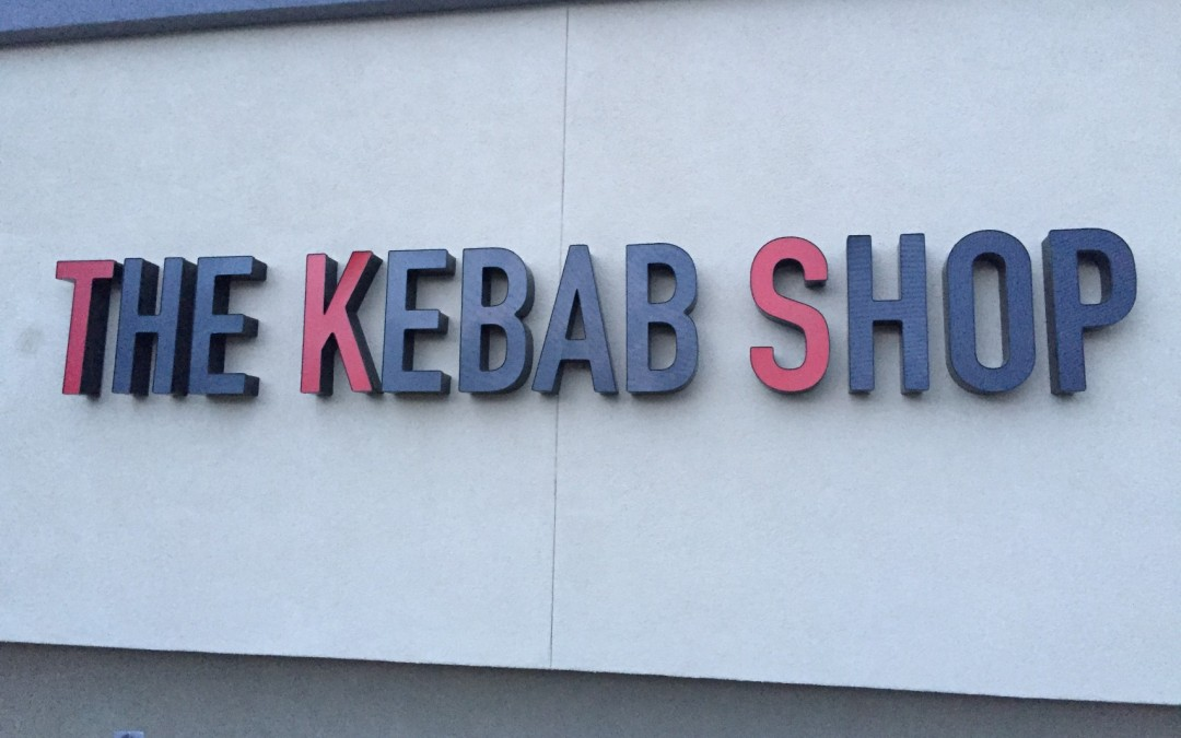 Kebob Shop's newest location in Pleasanton, CA