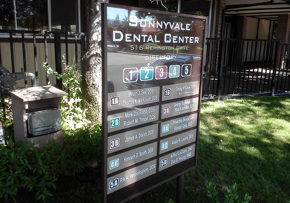 Outdoor and Exterior Signs - Wayfinding Signs